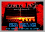 Cartel de Mama surf